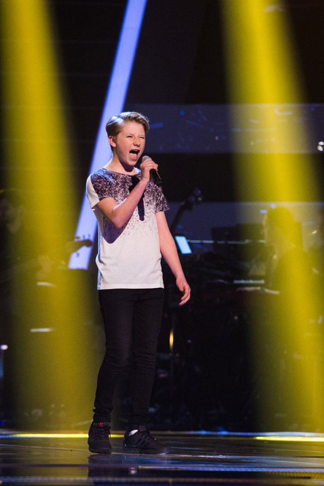 Perry's Blind Audition The Voice Kids UK
