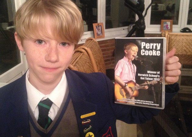 Perry Cooke's CD with all proceeds donated to the NNUH Radiotherapy Appeal